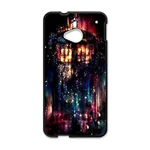 Happy Abstract night graffitti Cell Phone Case for HTC One M7