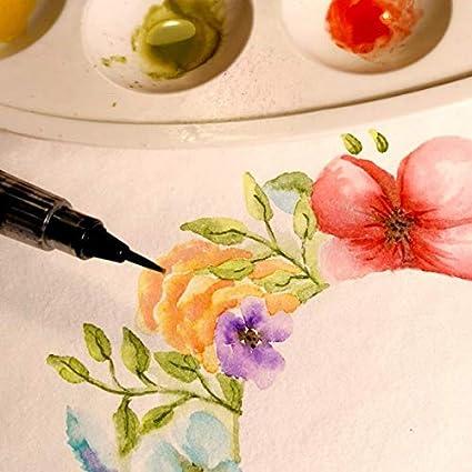 Vaessen Creative Florence Carta per Acquerello A5 100 Fogli per Pittura Handlettering qualit/à Belle Arti Progetti Artistici e Altro Ancora 300 g//mq Grana Grossa Avorio