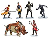 Disney Marvel Comics Black Panther 6 Piece Figure Play Set