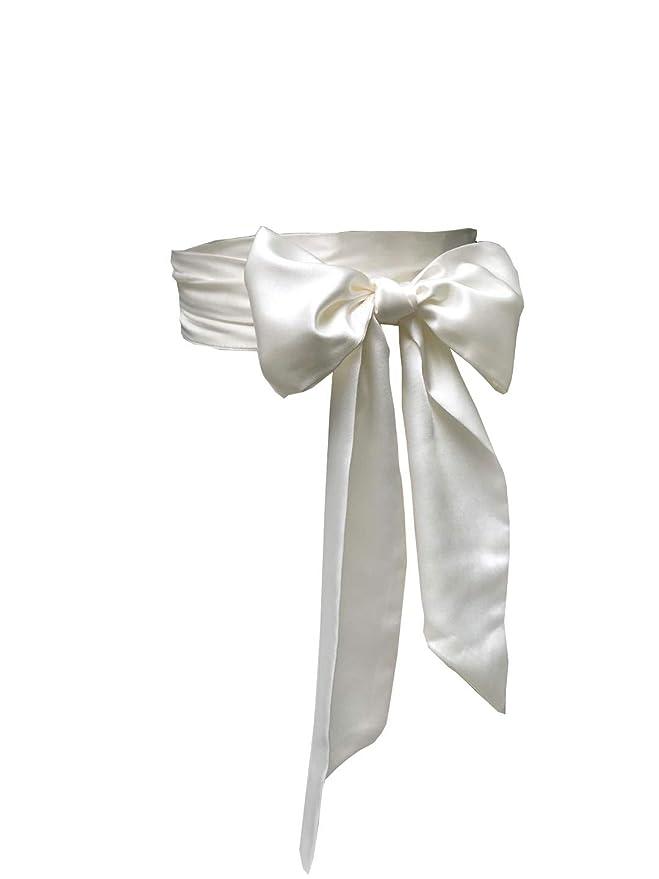 1920s Accessories: Feather Boas, Cigarette Holders, Flasks 4 Wide Double Side Eyrie Special Occasion Dress sash Bridal Belts Wedding sash  $12.99 AT vintagedancer.com