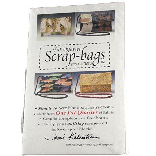 Scrapbag Pattern - Kalvestran 202 Sewing Pattern Fat Quarter Scrap-bags
