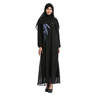 Zhuhaixmy Arab Middle East Malaysia Kaftan Turkey Muslim Ladies Abaya Ethnic Robe Islamic Dubai Long Sleeve