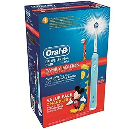 Braun Oral-B 610084 PC500 Plus - Pack familiar con cepillo DB10K ...