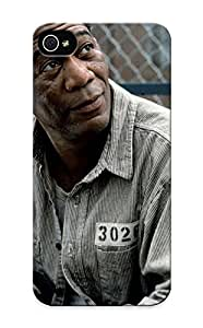 For Iphone 5/5s Fashion Design Morgan Freeman Case-fEKLn0pYNuX / Cover Specially Made For Thanksgiving Day's Gift