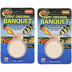 Zoo Med Laboratories AZMBB3 Giant Banquet Block Feeder, 2-Count