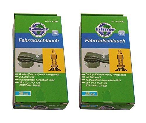 """Fahrrad Schlauch 26/""""x1.3//8-1.75 Dunlop Blitzventil NEU"""