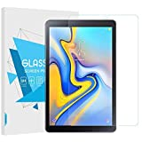 TiMOVO Samsung Galaxy Tab A 10.5' Screen Protector, Ultra Clear Hardness Tempered Glass Screen Protector Bubble-Free Anti-Scratch Film for Samsung Galaxy Tab A 10.5 Inch 2018 Release Tablet, Clear