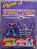Spider-Man (Toy Biz) Spider-Man (Cyber-Sect) Spider Force Action Figure
