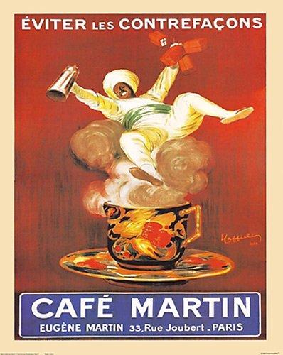 Amazon.com: Eugene Cafe Café Martin París por Leonetto ...
