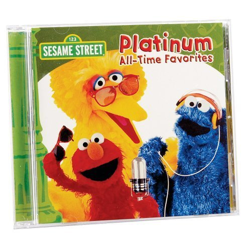 Sesame Street CD: Platinum All-Time Favorites Party Supplies By Sesame Street - Favorite Songs All Time Party
