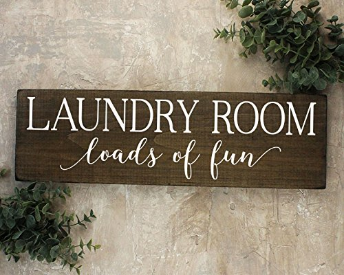 Loads of Fun Laundry Room Sign