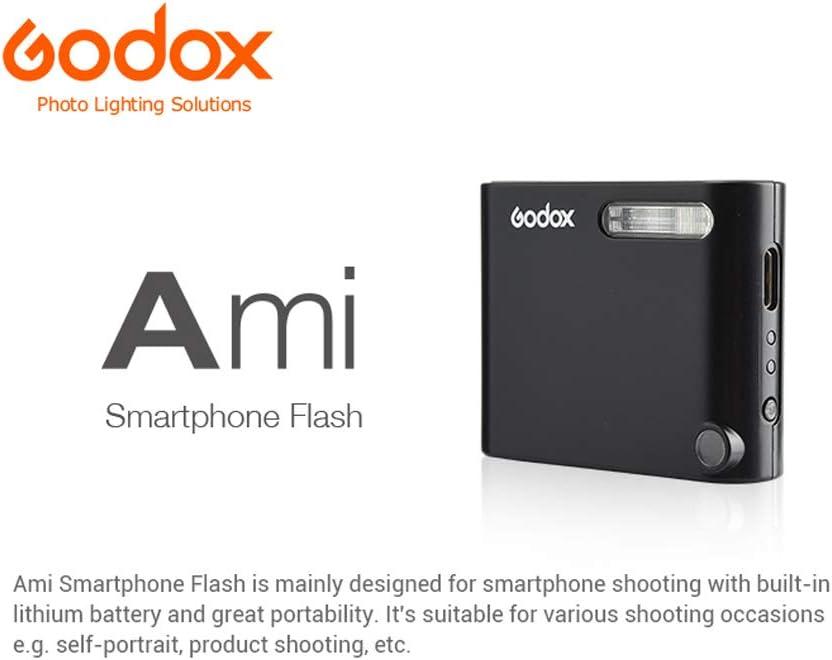 GODOX Ami 5W Mini Flash con Litio Bater/ía para Smartphone