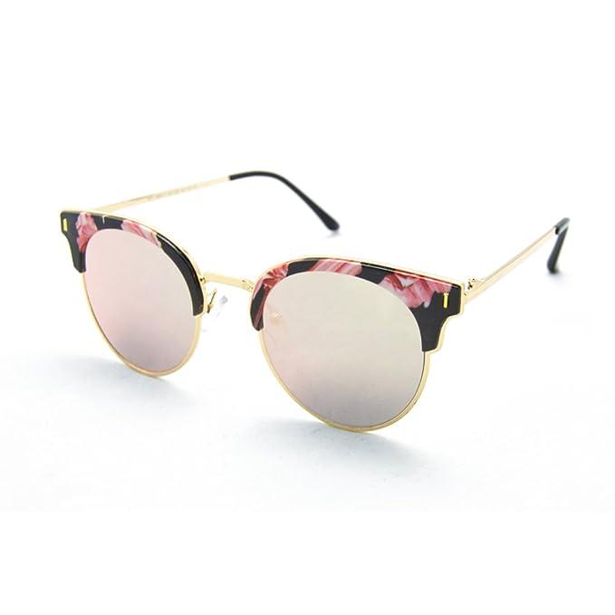Gafas de Sol para Mujer XD Panda, Color de Lente Rosa/negro, Montura ...