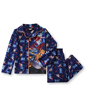 Planes Baby-Boys Infant Boys Coat Pajamas Set