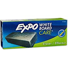 EXPO Dry Erase Board Eraser, Soft Pile, 5 1/8 Width x 1 1/4 Height (81505), Pack of 2