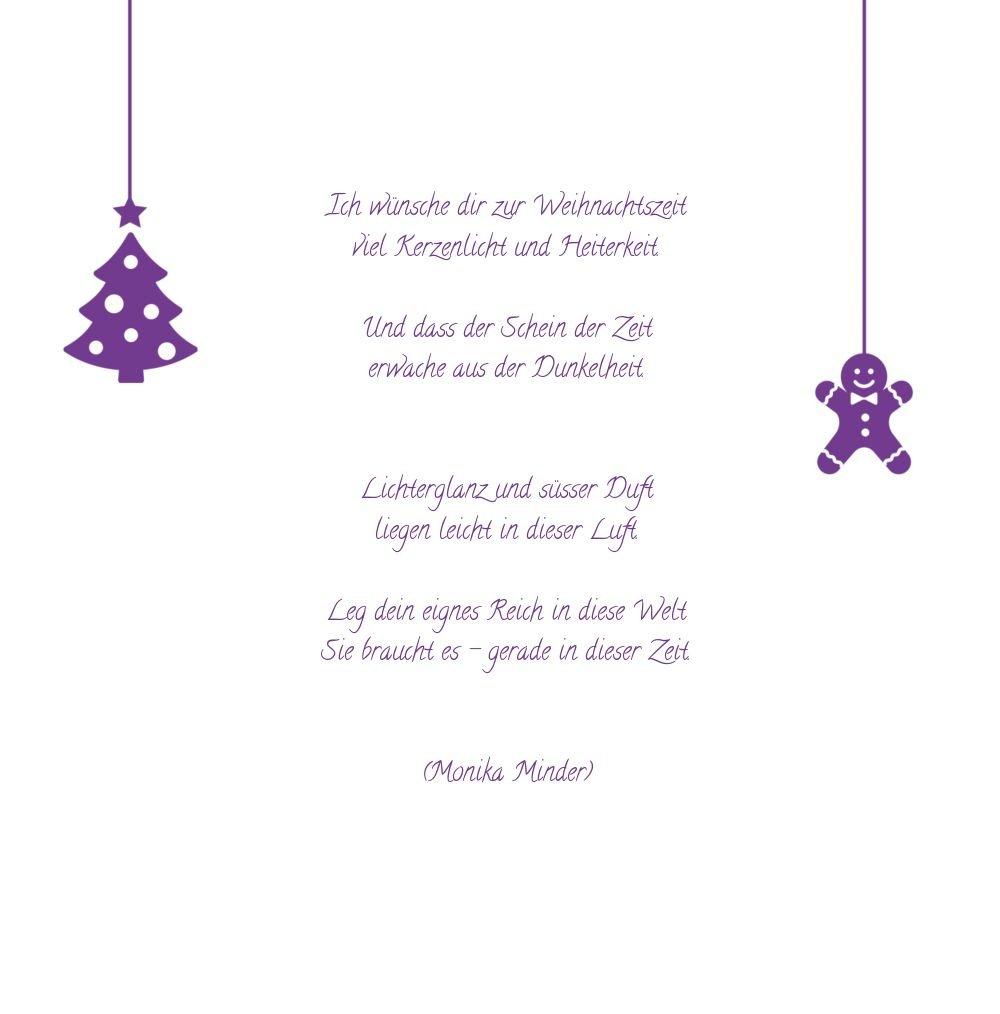 Kartenparadies Grußkarte Weihnachten Weihnachten Weihnachten Grußkarte Schmuckelemente, hochwertige Weihnachtsgrüße als Weihnachtskarte (Format  145x145 mm) Farbe  DunkelLilaMatt B01NASP030 | Ausreichende Versorgung  | Good Design  | Verschiedene Stile  1432f0