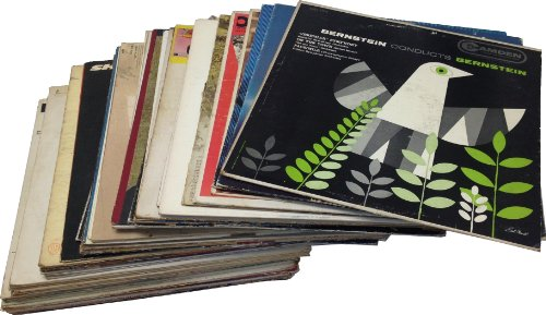 "12"" Vinyl Record Jackets for Arts & Crafts Decoration - 50'"