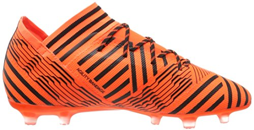 adidas Nemeziz 17.2 Fg, Scarpe da Calcio Uomo Multicolore (Solar Orange/Core Black/Solar Red)