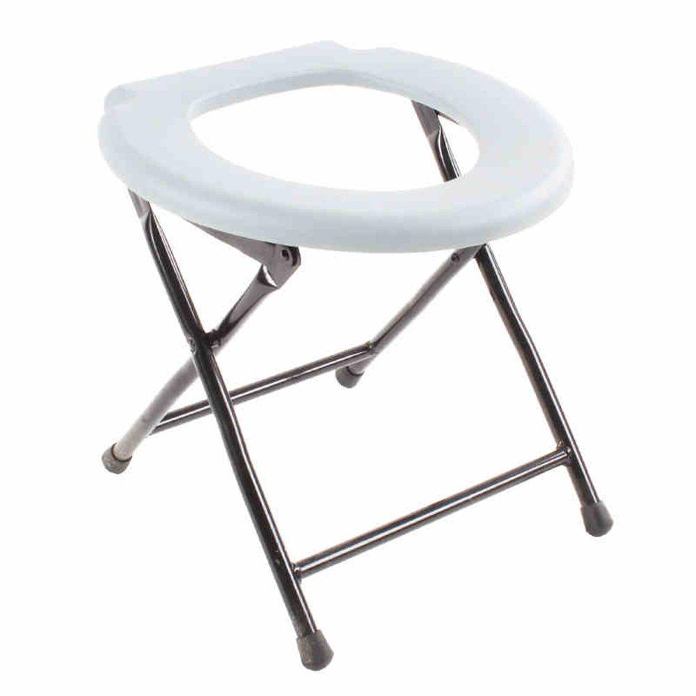 Hochstuhl Stuhl/Klappstuhl / Sitzsessel/Mobile WC Sitz/Pregnant Woman Old WC Hocker/weiß Hocker (35 * 38 cm) qiangzi Ändern Schuhe Stuhl