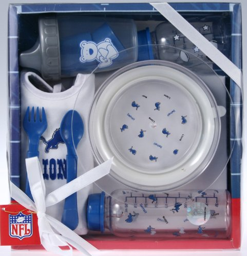 Detroit Lions NFL Football Unisex-baby Newborn Toddler Neces