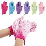 Best Exfoliating Gloves - Codream 6 Pair Bath Exfoliating Gloves Nylon Shower Review