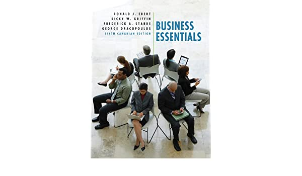 Amazon business essentials sixth canadian edition with amazon business essentials sixth canadian edition with mybusinesslab 6th edition 9780132479769 ronald j ebert ricky w griffin frederick a fandeluxe Choice Image