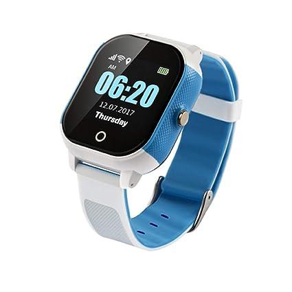 WYXIN Smartwatch para niños, Relojes Inteligentes para niños, niñas con rastreador GPS SOS Anti