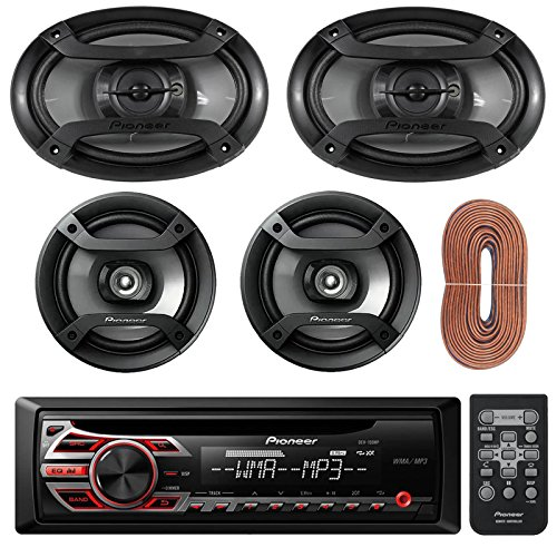 Ultra Drive Pro Digital Crossover - New Pioneer DEH150MP Car Stereo CD Receiver Bundle Combo With 2 Refurbished Pioneer TS-695P 6 X 9