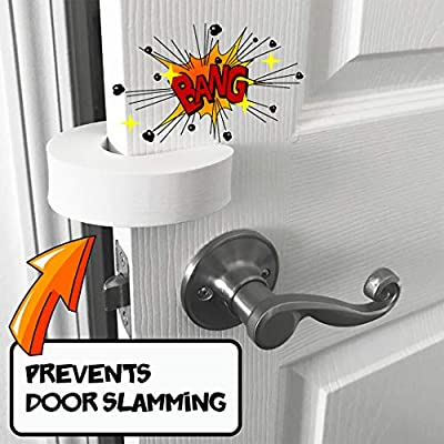 5 Pack Foam Door Stopper | Finger Pinch Protection | by Digit Defenders. Prevents Pinching, Slamming and Self-Locking Doors for Children and Pets!