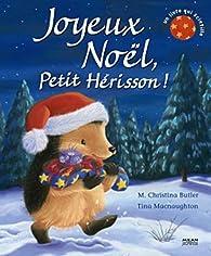 Joyeux Noël Petit Hérisson par M. Christina Butler
