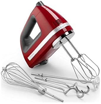 Amazon Com Kitchenaid 9 Speed Digital Display Hand Mixer Empire
