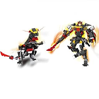 DNSJB Stitching Toy 2-in-1 Deformation Machine Armor Deformation Robot (Color : Two in one B)