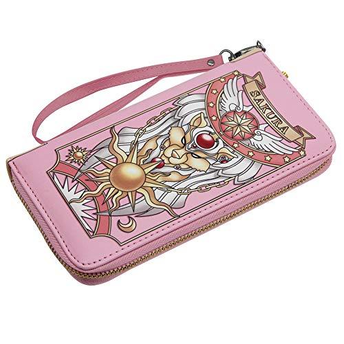 CARDCAPTOR SAKURA Pink Wallet Handbag Pink