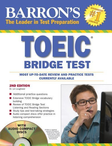 Barron's TOEIC Bridge Test with Audio CDs: Test of English for International Communication by Lin Lougheed Ph.D. (2010-04-01) by Barron's Educational Series