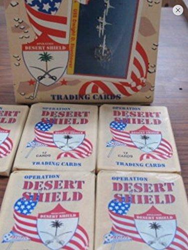 Desert Storm Trading Cards 1991 Unopened Box (36) Wax Packs Veterans Gift Non-sport