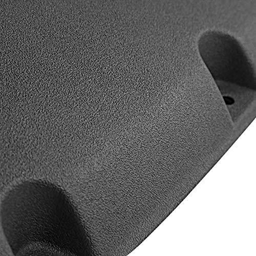 Carpartsinnovate For 88-98 C//K 1500 92-99 Suburban Yukon Bolt-On Pocket Rough Texture Fender Flares