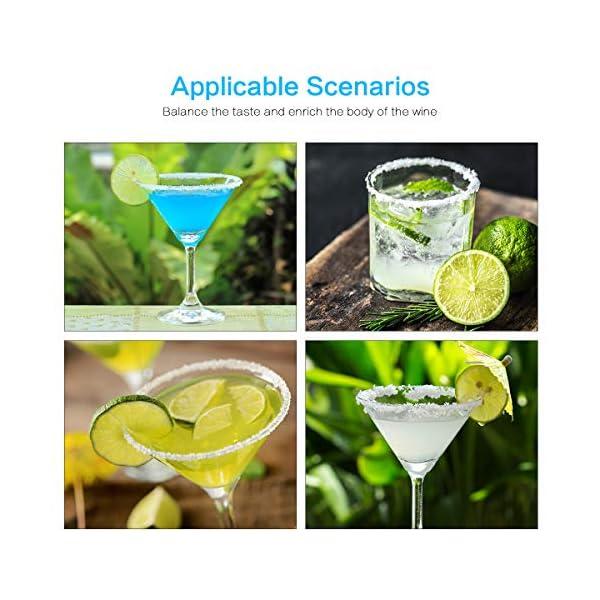 TMKEFFC Rimmer Vetro Cocktail Piatto di Sale in Legno per l'aggiunta di Sale e Zucchero a Cocktail, Margarita, Bevande… 3 spesavip