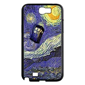 JamesBagg Phone case Doctor Who series pattern case cover For Samsung Galaxy Note 2 Case DW-STK-1029