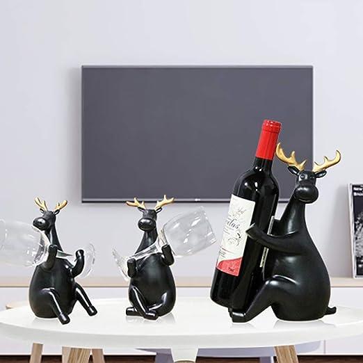 Estatuas La Decoración del Hogar De Escritorio Gabinete del Vino ...