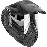 Valken Paintball MI-9 SC Goggle/Mask with Dual Pane Thermal Lens - Black
