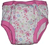 Baby Pants Adult - Almost a Big Kid Training Pants - XL Pink Butterflies