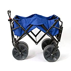 Your favorite folding wagon now comes with cool feature. Load up this foldable wagon with all of your beach or backyard essentials and get ready for an easy haul. Underneath its solid construction and durable polyester fabric are giant wheels...