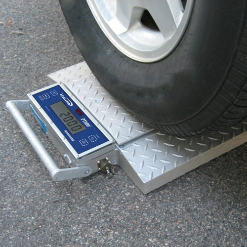 Truck Scale Two Pads 20,000 Lb Each Wheel Weigher Car Axle Scale