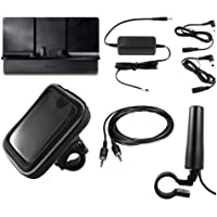 SiriusXM Satellite Radio Motorcycle Kit with Hardwired Power Adapter, Motorcycle Mount, Protective Case, and Motorcycle Antenna