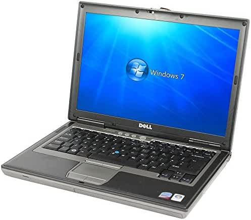 Dell Latitude D630 14.1-Inches Laptop (Core 2 Duo Dual Core 2.0GHz, 2GBRam, 80GB HDD, DVD Player, Windows XP), Grey