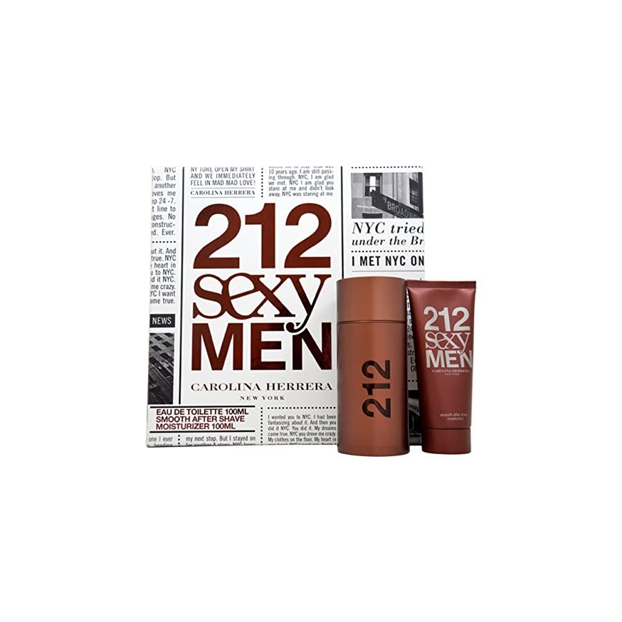 Carolina Herrera 212 Sexy Men Gift Set for Men, 2 Count