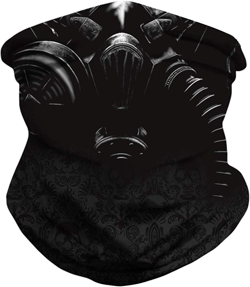 Bandana Motorcycle Riding Face Mask Balaclava Headband Gaiter for Outdoor Dust Protection Gorgeous letters