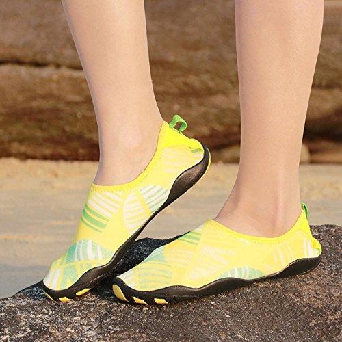 Quick Yellow Dry Upstream Water Women Sneakers Surf Diving Men Shoes Trekking wCax4qRT