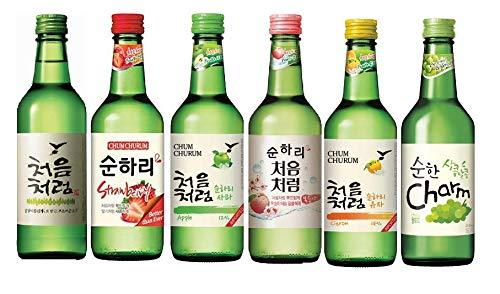 Lotte Chum Churum Soju Peach Flavour (Alc 12%) 360ml