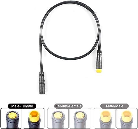 Bafang - Kit de Cable Extensible de 3 Pines para Freno, Acelerador ...